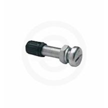Aluminum Straight Valve Stem - 8mm