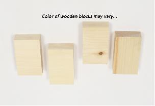 Wood Block Shims