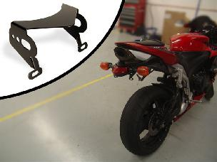 CBR600 Tidy Tail License Bracket with Turn Signals 2007-2011