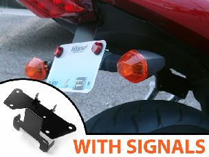 SV650-1000 LICENSE BRACKET W/TURN SIGNAL