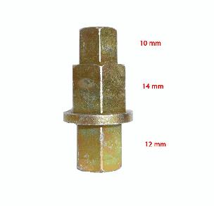 Hex Axle Mini Tool 10mm 12mm 14mm - Steel
