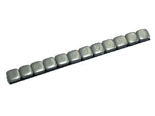 Silver Wheel Weight Strip (Steel) 1/PC