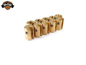 Brass Re-Usable Spoke Weights 10 pc. 1 oz.