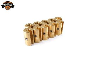 Brass Re-Usable Spoke Weights 10 pc. 1-1/4 oz.