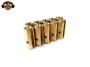 Brass Re-Usable Spoke Weights 10 pc. 1-1/2 oz.