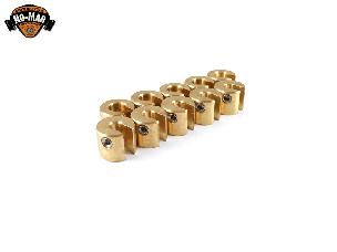 Brass Re-Usable Spoke Weights 10 pc. 1/2 oz.