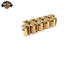 Brass Re-Usable Spoke Weights 10 pc. 3/4 oz.