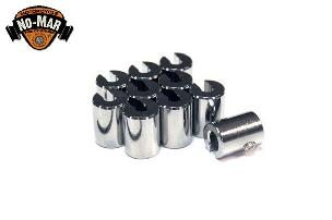 Chrome Re-Usable Spoke Weights 10 pc. 3/4 oz.