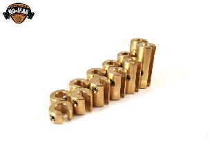Brass Re-Usable Motorcycle Spoke Weights 12pc