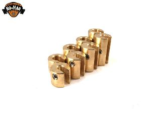 Brass Re-Usable Motorcycle Spoke Weights 8pc